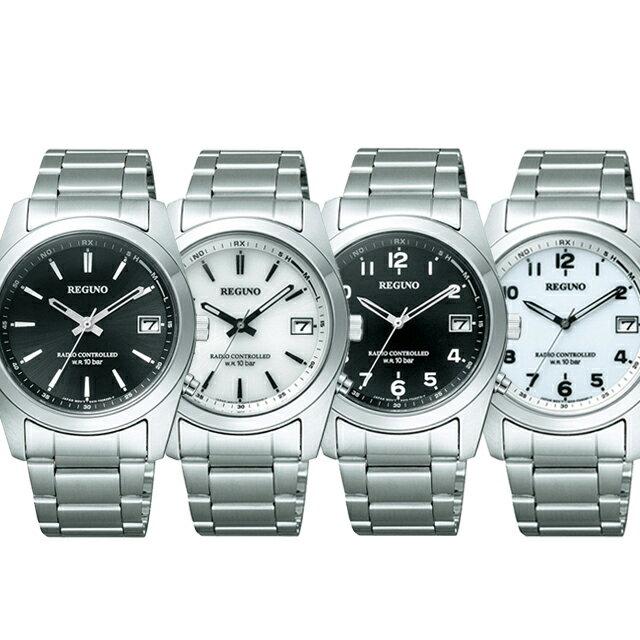 [選べる4種][シチズン]CITIZEN 腕時計 REGUNO レグノ ソーラーテック 電波時計 メンズ RS25-0481H RS25-0482H RS25-0483H RS25-0484H