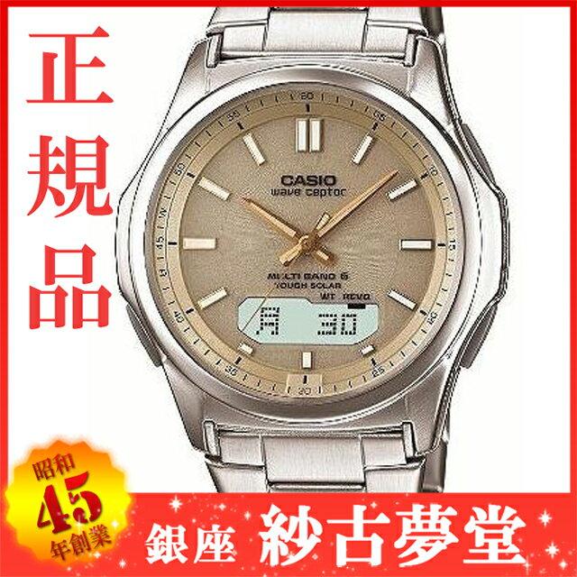 【店頭受取対応商品】CASIO カシオ wave ceptor ウェーブセプター 腕時計  マルチバンド6のソーラー電波時計[WVA-M630D-9AJF][4971850966524-WVA-M630D-9AJF]