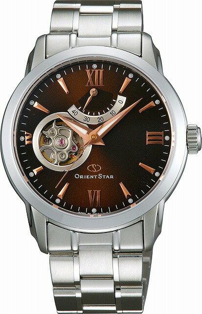 [7年保証][オリエント]ORIENT 腕時計 ORIENTSTAR オリエントスター セミスケルトン 機械式 自動巻(手巻付) WZ0071DA メンズ