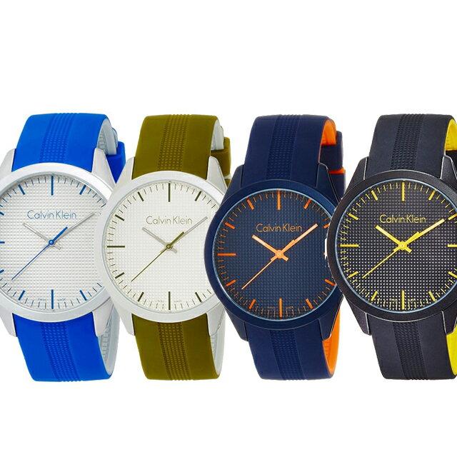 カルバンクライン Calvin Klein クオーツ メンズ 腕時計 ホワイトブルー シルバーグリーン ネイビーオレンジ ブラックイエロー K5E51FV4 K5E51FW6 K5E51GVN K5E51TBX