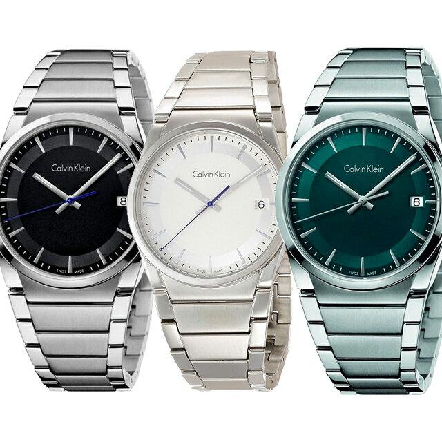 Calvin Klein カルバンクライン ウォッチ ステップ メンズウォッチ 腕時計 グレー ホワイト ブルー K6K31143 K6K31146 K6K3114L