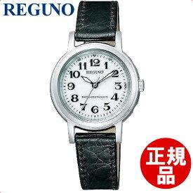 【店頭受取対応商品】[シチズン]CITIZEN 腕時計 REGUNO レグノ ソーラーテック 電波時計 クラシックストラップ KL4-711-10 レディース