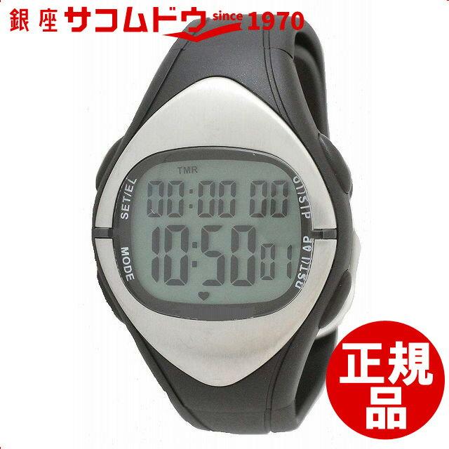 [クレファー]CREPHA 心拍計付きデジタル腕時計 消費カロリー表示 カウントダウンタイマー付き 10気圧防水 ブラック TS-D012-BK レディース[スポーツ ファッション キッズ ウォッチ][3up]