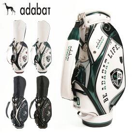 アダバット ゴルフ キャディバッグ 9.0型 47インチ対応 メンズ レディース ABC403 adabat バッグ スタンド[PO10][即日発送][bef]