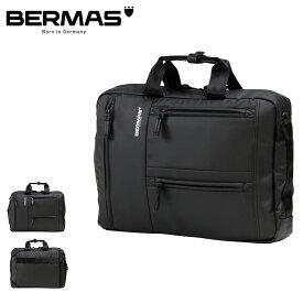 バーマス ビジネスバッグ 3WAY リュック バックパック A4 アルスフェルト メンズ 60350 BERMAS   ブリーフケース ショルダーバッグ キャリーオン 撥水 [PO10][bef]