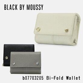 ブラックバイマウジー 三つ折り財布 レディース b07703205 BLACK BY MOUSSY レザー [PO5][bef]