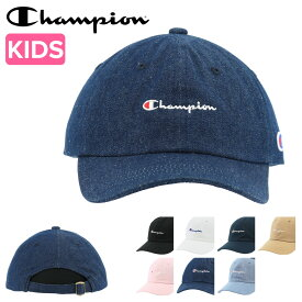 チャンピオン キャップ メンズ レディース 141-002A Champion 帽子 コットン デニム ローキャップ サイズ調節可能[PO5][bef][即日発送]