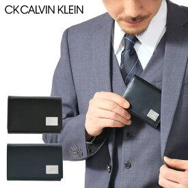 シーケー カルバンクライン 三つ折り財布 レジンII メンズ 345156 CK CALVIN KLEIN | 当社限定 WEB限定 別注モデル ミニ財布 コンパクト 牛革 本革 レザー[PO5][bef][即日発送]