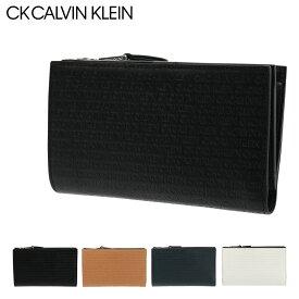 シーケー カルバンクライン 二つ折り財布 リピート メンズ802613 CK CALVIN KLEIN | 本革 レザー[PO5][bef]
