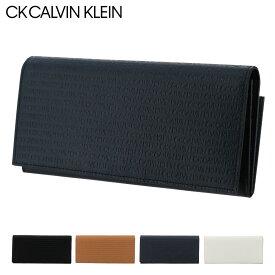 シーケー カルバンクライン 長財布 リピート メンズ802614 CK CALVIN KLEIN | 本革 レザー[PO5][bef]