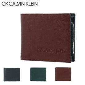 シーケー カルバンクライン 二つ折り財布 ロック メンズ 803634 CK CALVIN KLEIN|スコッチガード 牛革 本革 レザー 撥水[bef][PO5]
