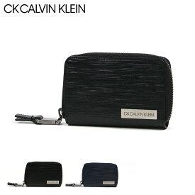 シーケー カルバンクライン キーケース スマートキー タットII メンズ 808612 CK CALVIN KLEIN | ラウンドファスナー 本革 レザー[bef][PO5][即日発送]