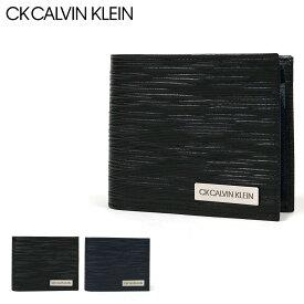 シーケー カルバンクライン 二つ折り財布 タットII メンズ 808614 CK CALVIN KLEIN   本革 レザー[bef][PO5][即日発送]