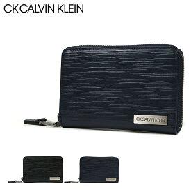 シーケー カルバンクライン 二つ折り財布 ラウンドファスナー タットII メンズ 808615 CK CALVIN KLEIN | 本革 レザー[bef][PO5][即日発送]