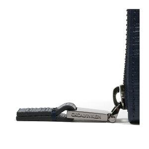 シーケーカルバンクライン二つ折り財布ラウンドファスナータットIIメンズ808615CKCALVINKLEIN|本革レザー[bef][PO5][即日発送]
