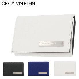シーケー カルバンクライン 名刺入れ コモン 本革 レザー メンズ 824613 CK CALVIN KLEIN   牛革 common[PO5][即日発送][bef]