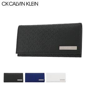 シーケー カルバンクライン 長財布 かぶせ コモン 本革 レザー メンズ 824617 CK CALVIN KLEIN | 牛革 common[PO5][即日発送]