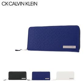 シーケー カルバンクライン 長財布 ラウンドファスナー コモン 本革 レザー メンズ 824618 CK CALVIN KLEIN | 牛革 common[PO5][bef]