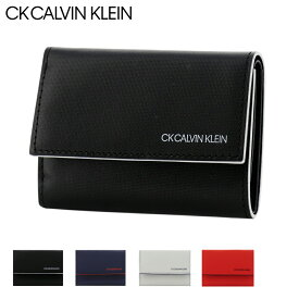 CK カルバンクライン 三つ折り財布 ミニ財布 ミニカラー メンズ876604 CK CALVIN KLEIN | 本革 レザー [PO5][bef][即日発送]