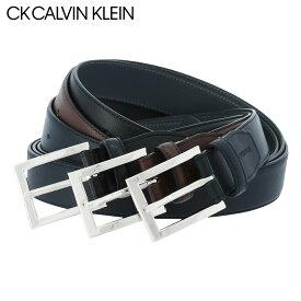 CK カルバンクライン ベルト ピンタイプ メンズ CKB-8034 日本製 CK CALVIN KLEIN | ビジネス カジュアル フォーマル 牛革 本革 レザー [PO5]