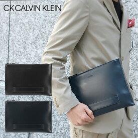 シーケーカルバンクライン セカンドバッグ B5 メンズ ダイス 807211 CK CALVIN KLEIN クラッチ ビジネス 本革 レザー [PO5][bef]