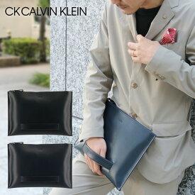 シーケーカルバンクライン セカンドバッグ A4 メンズ ダイス 807212 CK CALVIN KLEIN クラッチ ビジネス 本革 レザー [PO5][bef][即日発送]