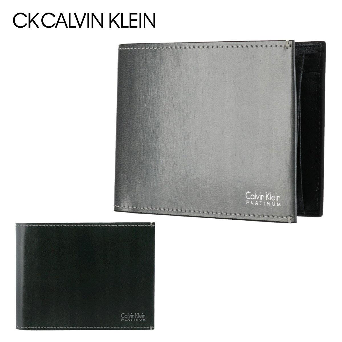 シーケーカルバンクライン 財布 二つ折り メンズ ボルダー 839614 CK CALVIN KLEIN 本革 レザー [PO5][bef][即日発送]