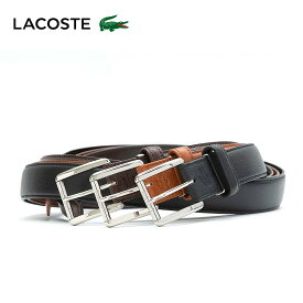 ラコステ ベルト メンズ LB84450 LACOSTE 本革 レザー カジュアル ビジネス [PO5][bef][即日発送]