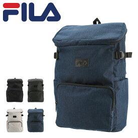 フィラ リュック 30L 大容量 プリモ メンズ レディースFILA-7535 FILA | リュックサック スクエア デイパック A4 通学 USB充電機能 防災リュック 防災バッグ[PO10][bef][即日発送]