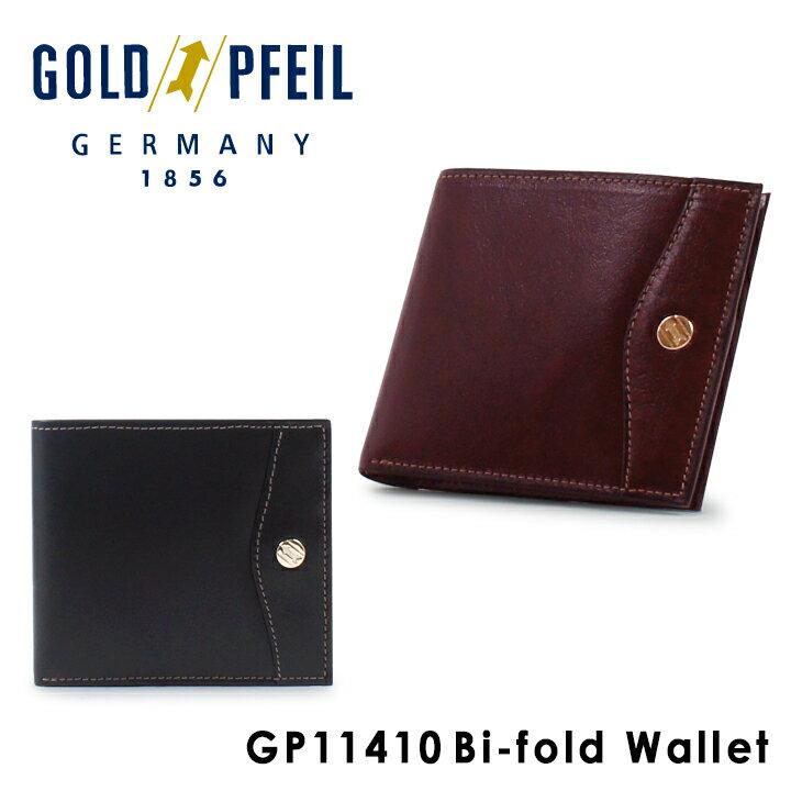 ゴールドファイル 二つ折り財布 メンズ GP11410 GOLD PFEIL OXFORD 札入れ 本革 レザー [PO10][bef]