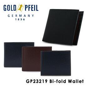 ゴールドファイル 二つ折り財布 メンズ GP23219 GOLD PFEIL [1年保証][PO10][bef]