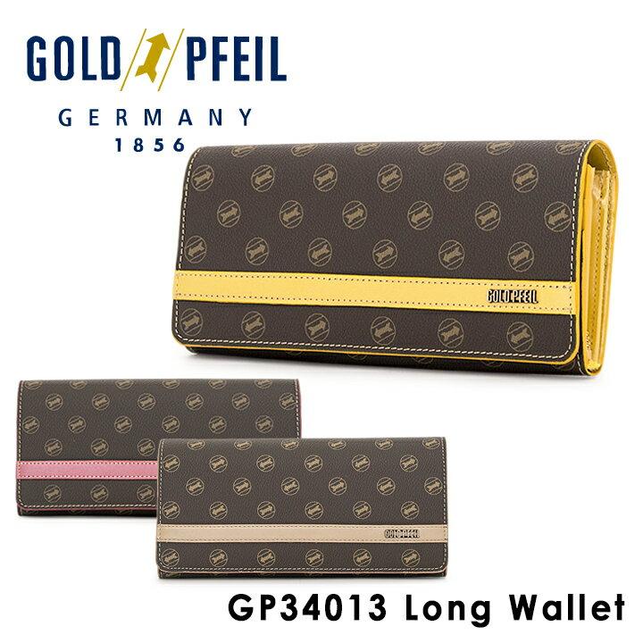 ゴールドファイル 長財布 レディース GP34013 GOLD PFEIL SIGNATURE [PO10][bef]