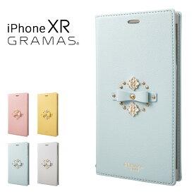グラマスファム iPhoneXR ケース レディース FLC-62518 GRAMAS FEMME | スマートフォンケース 手帳型[bef][即日発送]