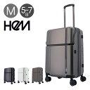 ヘム スーツケース 64L 54cm 4kg リム TR-024-02 HeM|ハード ファスナー キャリーバッグ キャリーケース トップオー…