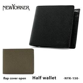 ニューヨーカー 二つ折り財布 NYK150 NEWYORKER インサイドチェック 本革 レザー [PO5][bef]