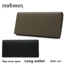 ニューヨーカー 長財布 NYK151 NEWYORKER インサイドチェック 本革 レザー [PO5][bef]