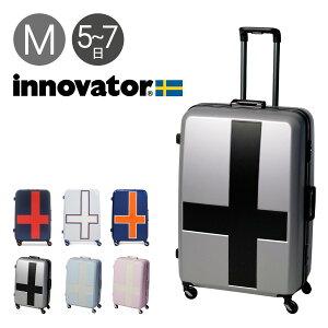 イノベーター スーツケース|90L 68cm 4.8kg INV68T|2年保証 ハード フレーム TSAロック搭載 HINOMOTO 消音 キャリーバッグ [PO10][bef]
