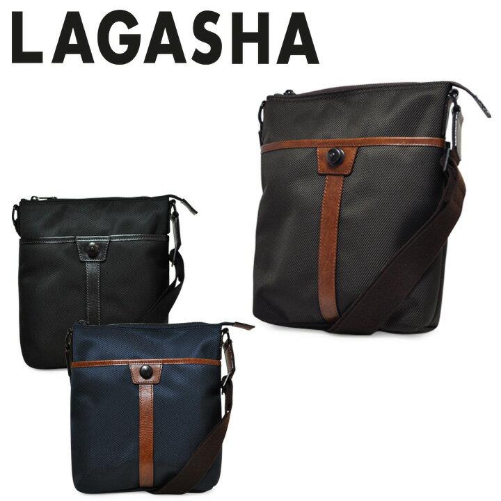 ラガシャ ショルダーバッグ MOVE ムーヴ OFFICE 7141 メンズ 日本製 薄マチ 旅行バッグ 軽量 高耐久性 LAGASHA [PO10][bef][即日発送]