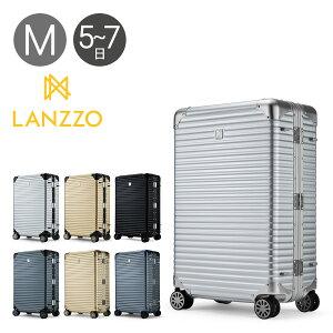 ランツォ スーツケース ノーマン 27インチ|64L 64cm 6.3kg|アルミニウム合金 5年保証 アルミ ハード フレーム TSAロック搭載 キャリーバッグ LANZZO [bef][PO10]