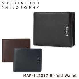 マッキントッシュ フィロソフィー 二つ折り財布 メンズ グレンオード map112017 MACKINTOSH PHILOSOPHY 札入れ 束入れ 本革 レザー [PO10][bef][即日発送]