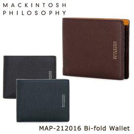 マッキントッシュ フィロソフィー 二つ折り財布 メンズ ニューオーバン 212016 MACKINTOSH PHILOSOPHY 本革 レザー [PO10][bef][即日発送]