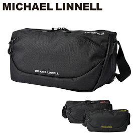 マイケルリンネル ショルダーバッグ メンズ レディース 男女兼用 MLCD-600 MICHAEL LINNELL コーデュラナイロン[PO10][bef]