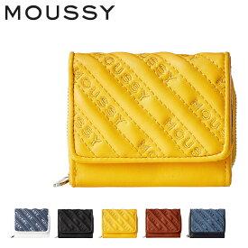 マウジー 三つ折り財布 ミニ財布 キルティング レディース M01200011 MOUSSY[bef][PO10]