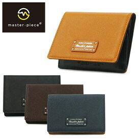 マスターピース カードケース 525084 noble メンズ masterpiece 名刺入れ カードケース メンズ[即日発送][bef]