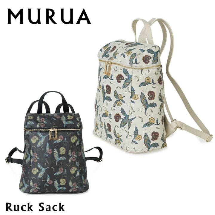 ムルーア MURUA リュック MR-B504 フラワー 【 デイパック バックパック レディース 】