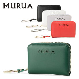 ムルーア 二つ折り財布 ロゴパンチング MR-W573 レディース MURUA [PO5][bef]