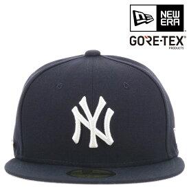 ニューエラ キャップ GORE-TEX 59FIFTY MLB ニューヨークヤンキース 帽子 NEW ERA | メンズ レディース[bef][即日発送]