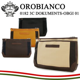 【30%OFF】オロビアンコ セカンドバッグ メンズ 0182 Orobianco 3C DOKUMENTS-OBGI 01 ST.LOUIS クラッチバッグ [PO10][bef][即日発送]