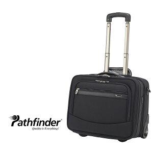 """パスファインダー スーツケース メンズ PF6877 Pathfinder 17""""Rolling EXP Compubrief ビジネス キャリーバッグ 機内持ち込み可[PO10][bef][クリスマス]"""