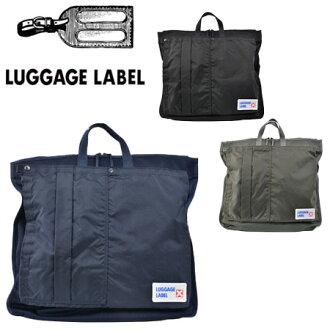 吉田kabanragejjireberu LUGGAGE LABEL挎包CARGO货物967-05721